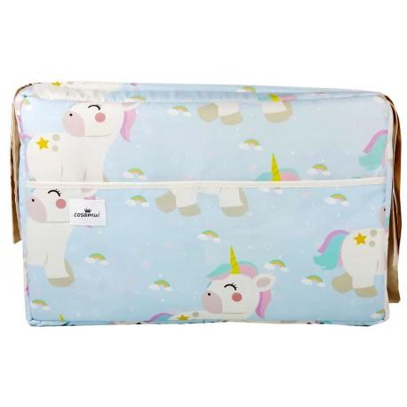 Bolso carrito maternidad rainbow unicorn