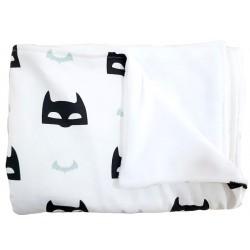 manta para bebé súper héroe