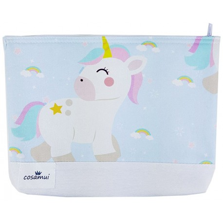 Neceser unicorn rainbow