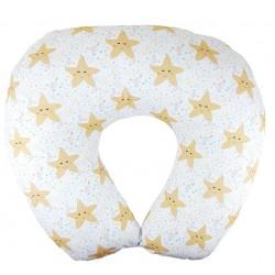 Cojín de lactancia estrellas mar