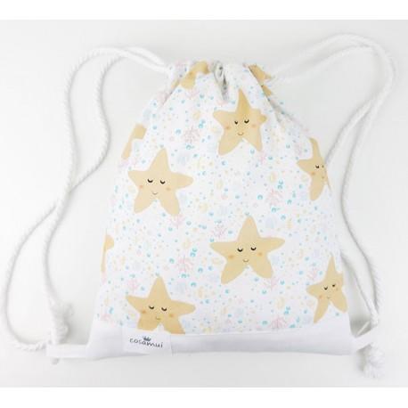 Mochilas infantil bebe estrellas mar