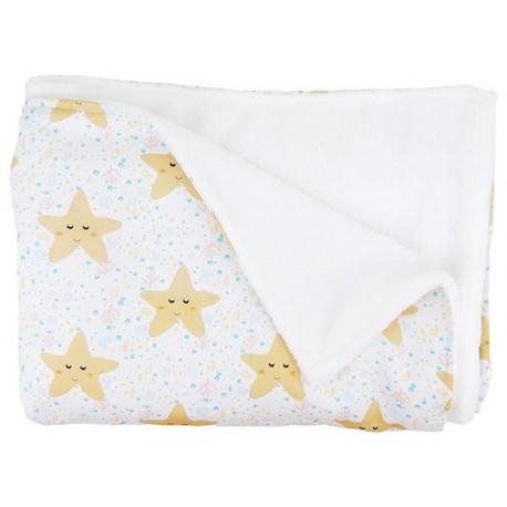 manta para bebé estrellas mar