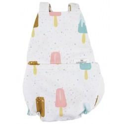 Peto bebé espalda abierta icecream