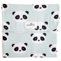 Cambiador plegable de viaje panda mint
