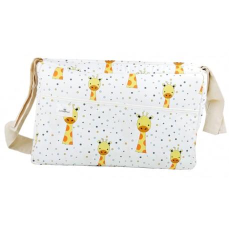 Bolso carrito maternidad jirafas
