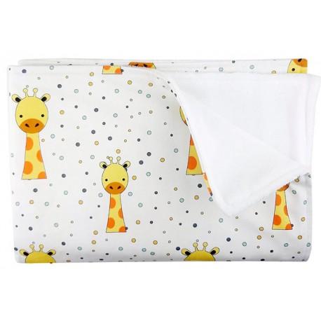 manta para recien nacido jirafa