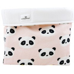 cesto de almacenaje new panda rosa