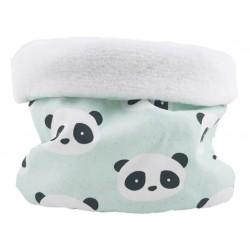 Braga cuello niño niña new panda mint