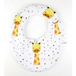 Babero para bebé algodon jirafa