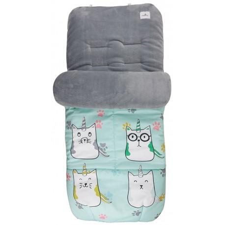 Saco universal silla paseo bebe cat unicorn