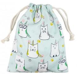 bolsa o mochila infantil o adulto colegio cat unicorn