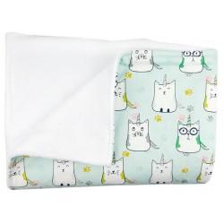manta carrito paseo bebe cat unicorn