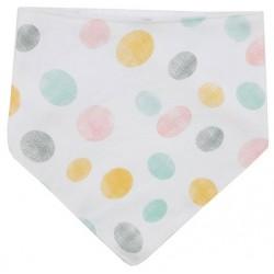 Bandana para bebé algodón puntos rasgados