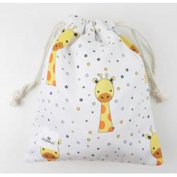 bolsa merienda colegio jirafa
