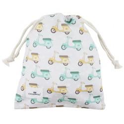 bolsa merienda colegio niño niña vespa