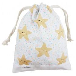 bolsa merienda personalizada niño niña estrella mar