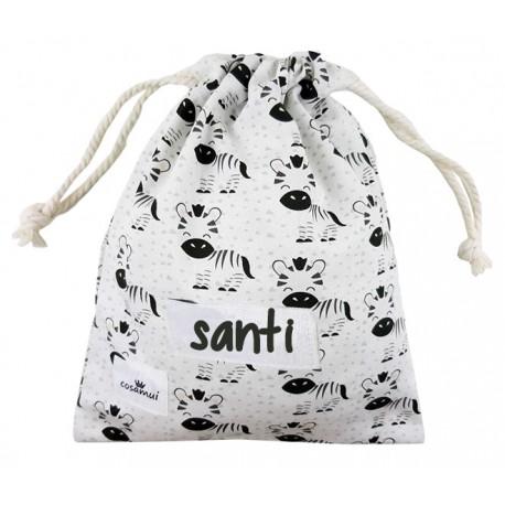 bolsa merienda personalizada niño niña vespa