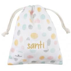 bolsa merienda colegio niño niña confeti