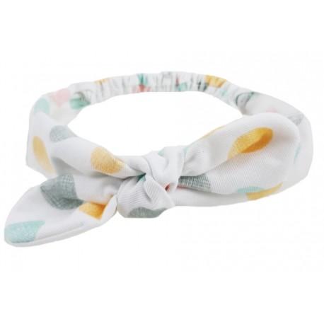 turbante bebé confeti