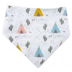 Bandana para bebé cactus tipis