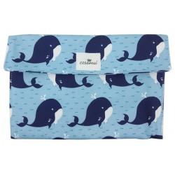 Portadocumentos bebé whale