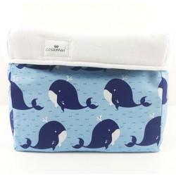 cesto de almacenaje whale
