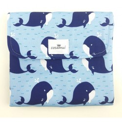 Cambiador plegable impermeable whale