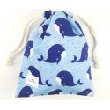 bolsa merienda colegio niño whale
