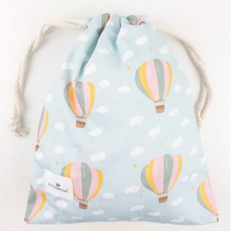 bolsa o mochila infantil o adulto globos aeroestaticos