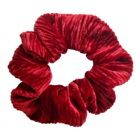 Coletero niña mujer terciopelo rojo