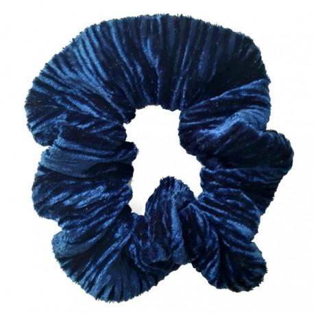 Coletero niña mujer terciopelo azul