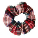 Coletero scrunchie mujer escoces