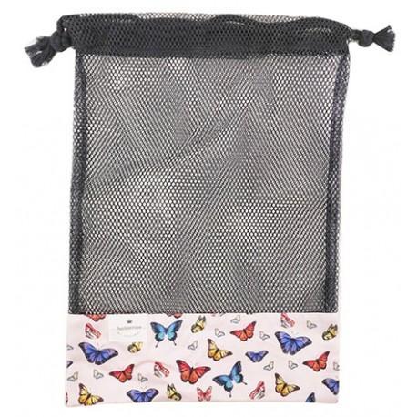 Bolsa de rejilla mariposas
