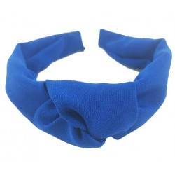 Diadema mujer color azul