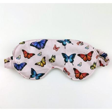 Antifaz para dormir mariposas