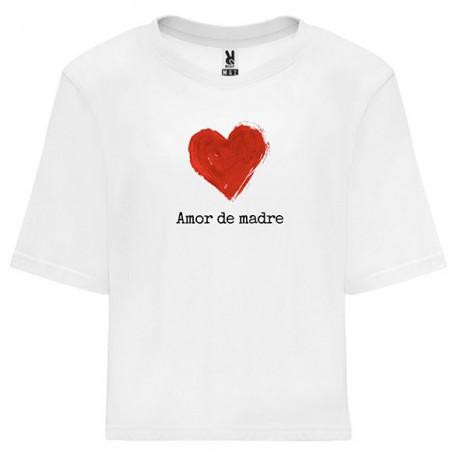 Camiseta mujer amor de madre