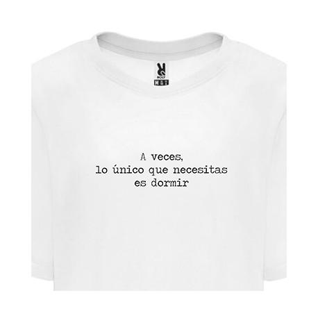 Camiseta mujer dormir