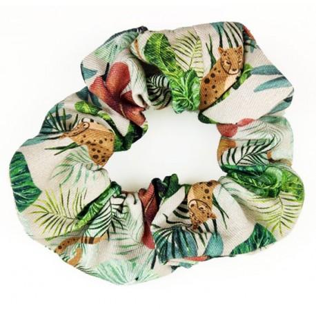 Coletero scrunchie mujer tiger