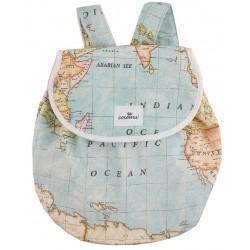 Mochila infantil mapamundi