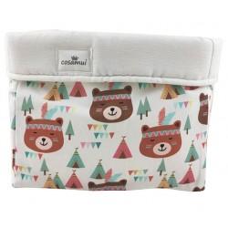 cesto de almacenaje osos tipis