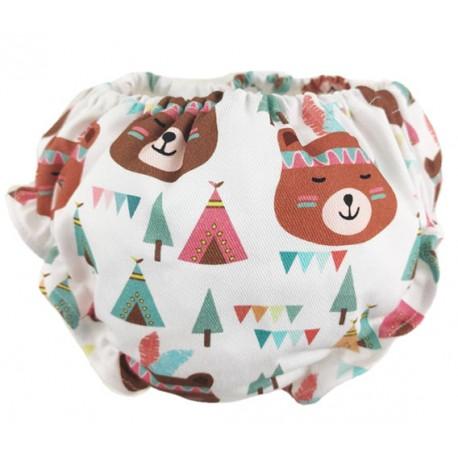 cubrepañal braguita bebe osos tipis