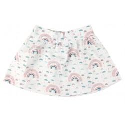 Falda bebé mapamundi animal
