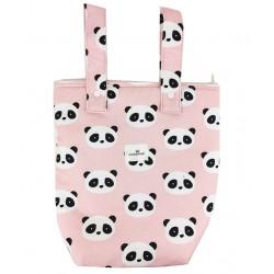 Bolso panera carro new panda rosa