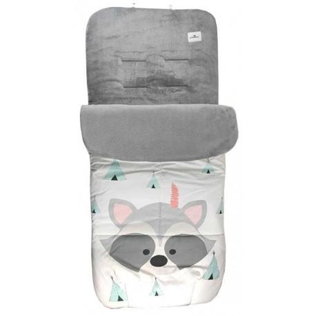 Saco universal carrito bebe mapaches tipi total