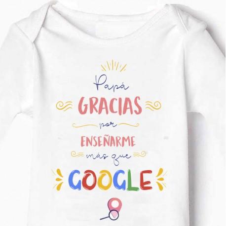 Body bebé Papá google