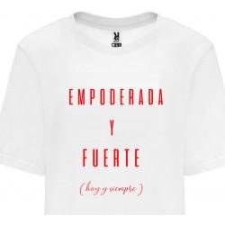 Camiseta mujer empoderada y fuerte