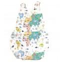 Peto bebé mapamundi animal