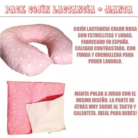PACK COJIN LACTANCIA + MANTA