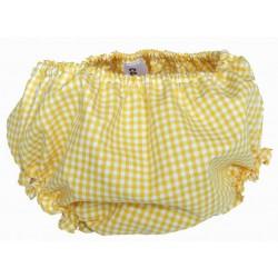 Culotte amarillo vichy